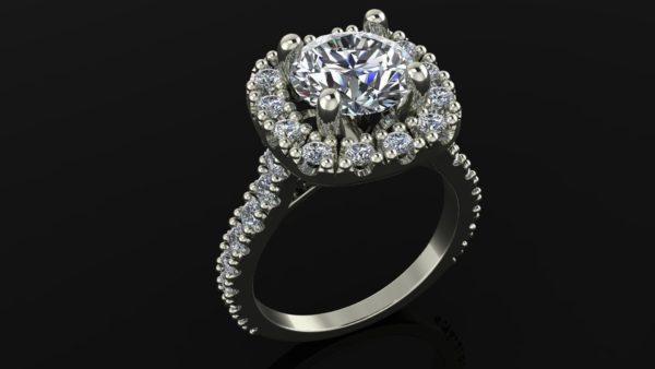 Женское кольцо 1394