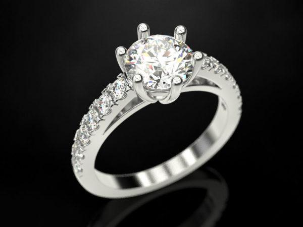 Женское кольцо 1351