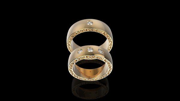 Обручальное кольцо 1317