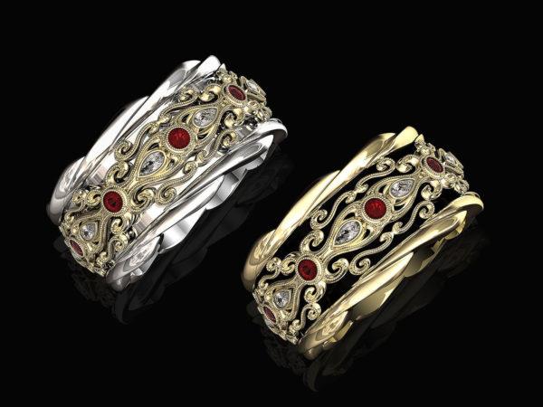 женские кольца 1299