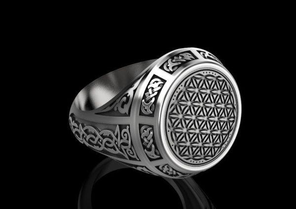 Мужское кольцо 1361