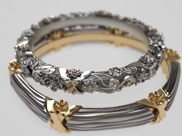 Обручальное кольцо 1368