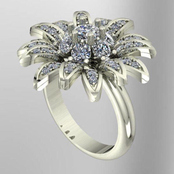 Женское кольцо 1295