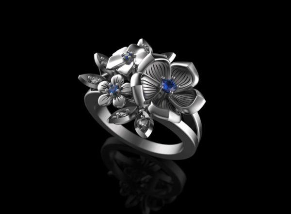женские кольца 1370