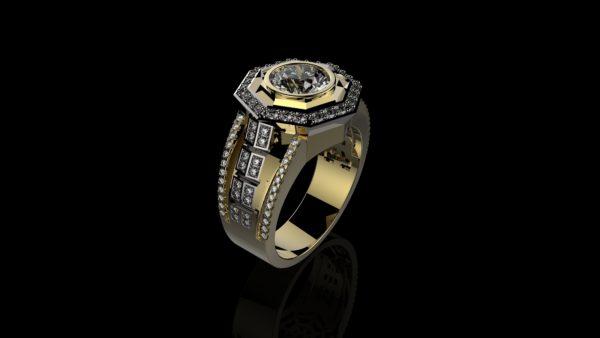 мужские кольца  1267