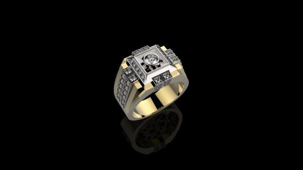 Мужское кольцо 1228