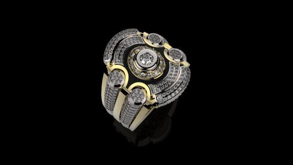 мужские кольца  1265