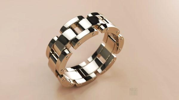 Обручальное кольцо 1243