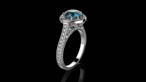 женские кольца  1281