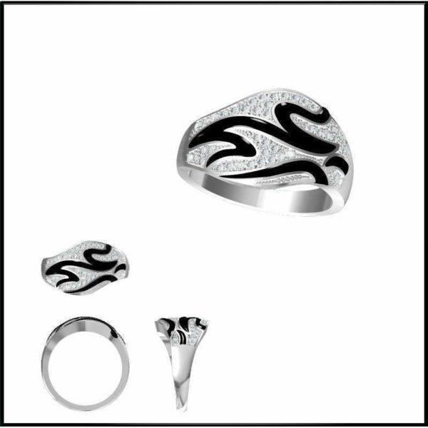 женские кольца 1354