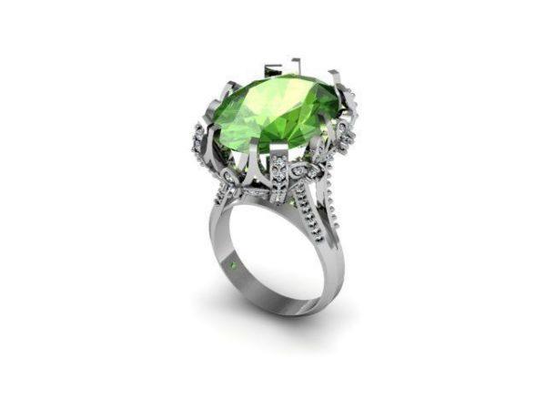Женское кольцо 1313