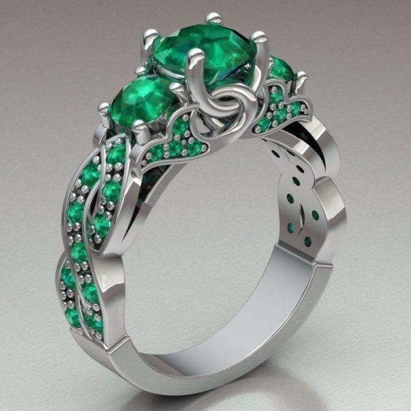 Женское кольцо 1331