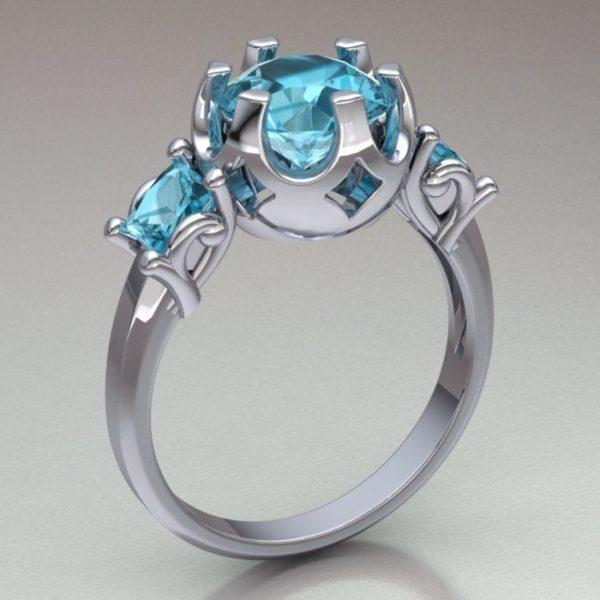 Женское кольцо 1285