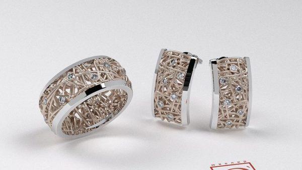 Женское кольцо 1363