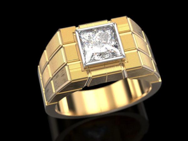 мужские кольца 1392