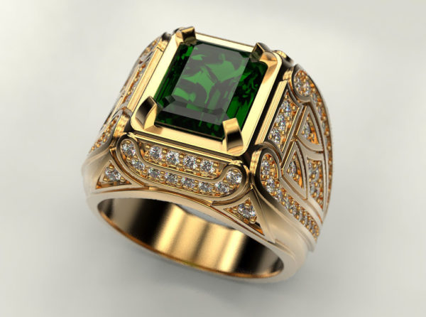 Мужское кольцо 1271