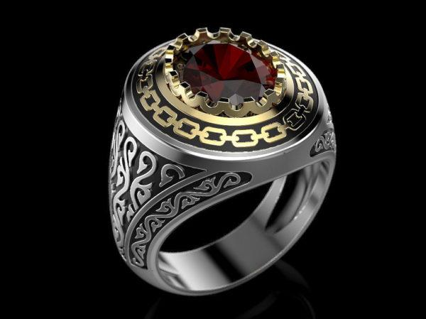Мужское кольцо 1391