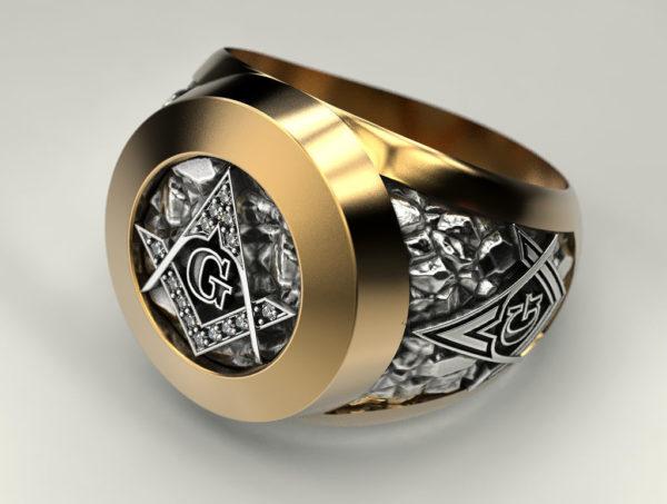 мужские кольца 1374