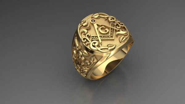 мужские кольца 1372