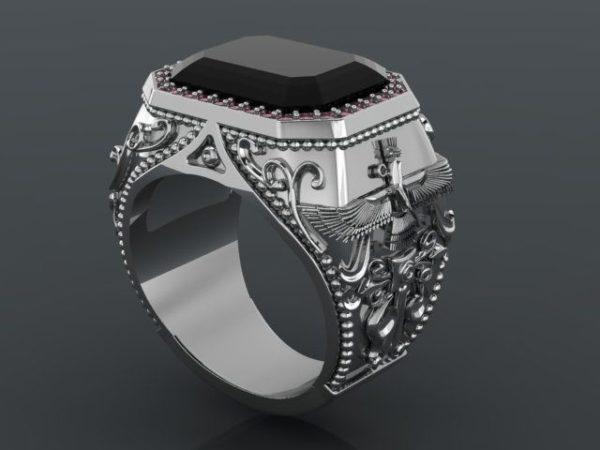 мужские кольца 1353