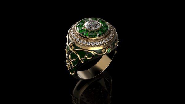 женские кольца  1270