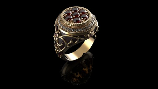 мужские кольца 1379