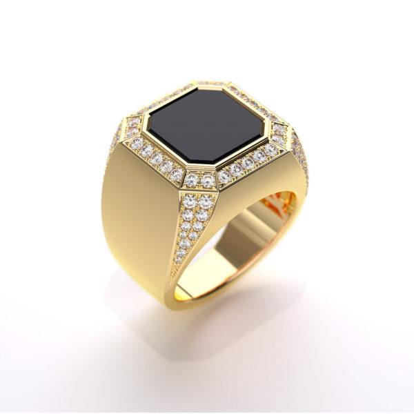 Мужское кольцо 1388