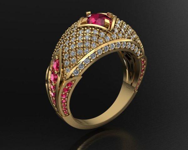 Женское кольцо 1232