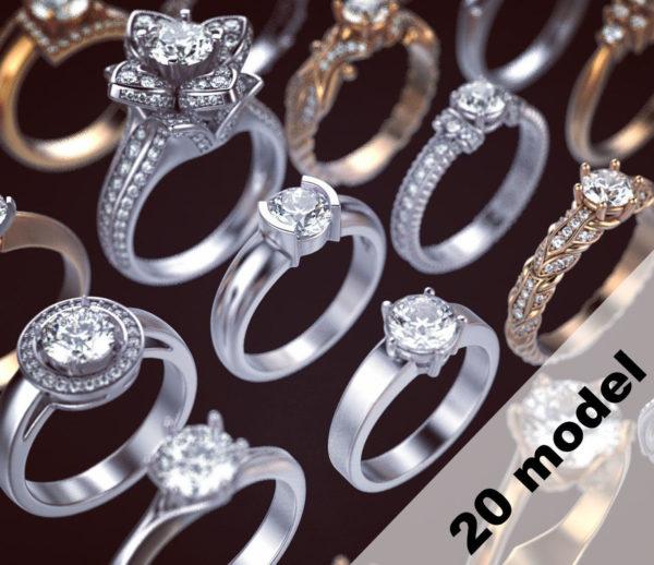 Женское кольцо 1294