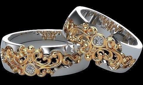 Обручальное кольцо 1369