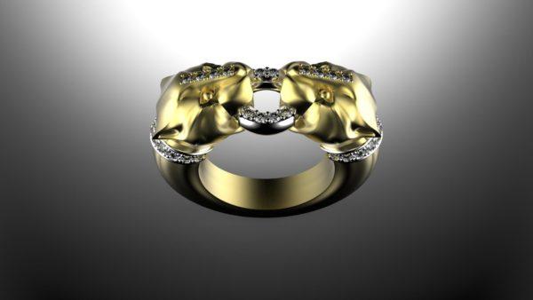 женские кольца 1229