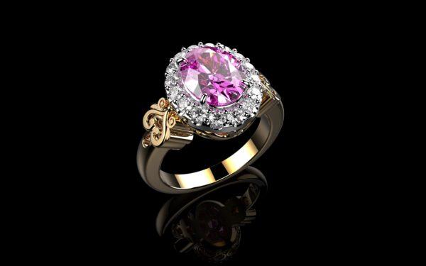 женские кольца  1276