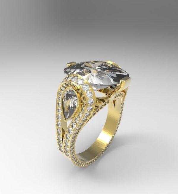 Женское кольцо 1253