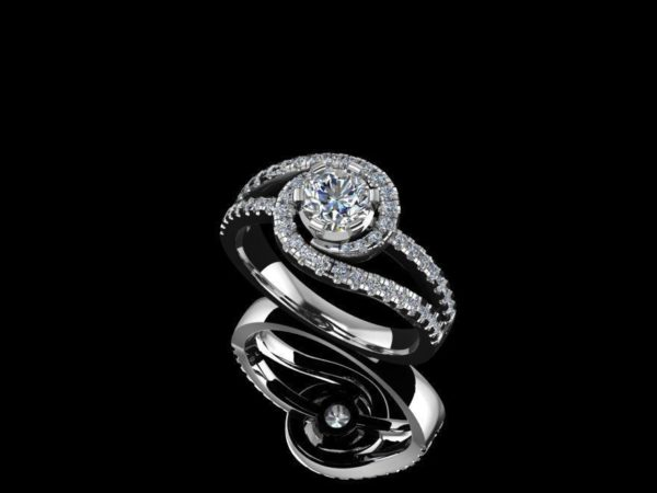 Женское кольцо 1286