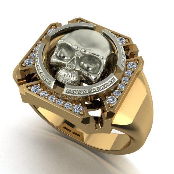 Мужское кольцо  1321