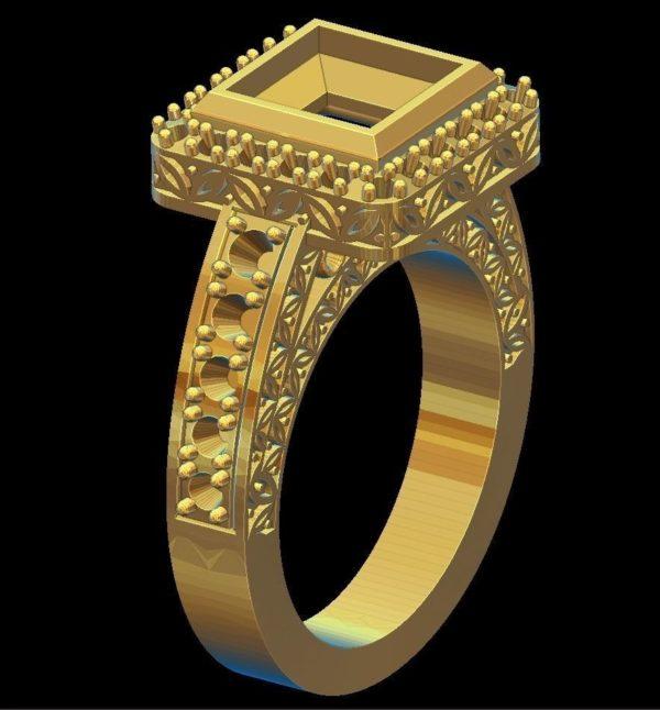 Женское кольцо 1312