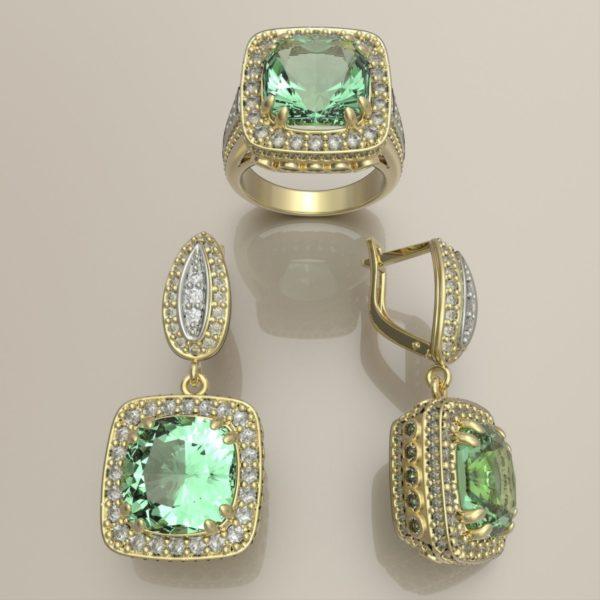 женские кольца 1334