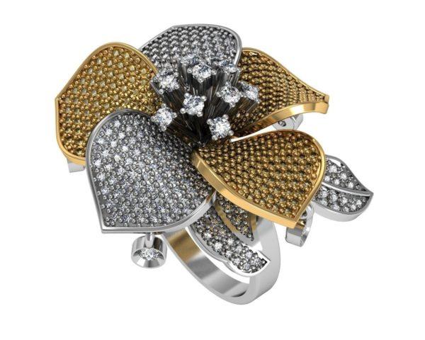 женские кольца 1235