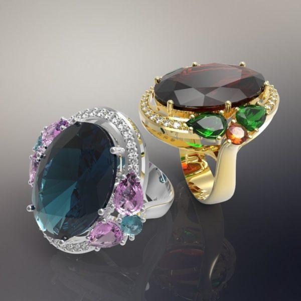 Женское кольцо 1256