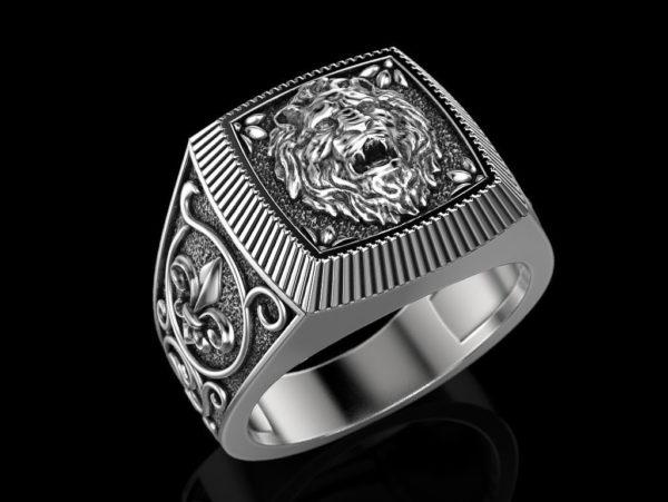 Мужское кольцо 1365