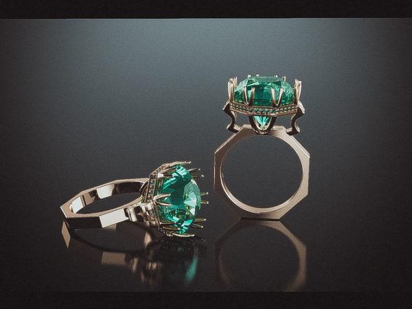 женские кольца  1250