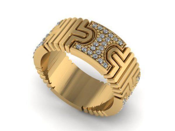 Обручальное кольцо 1342