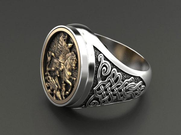 мужские кольца 1242