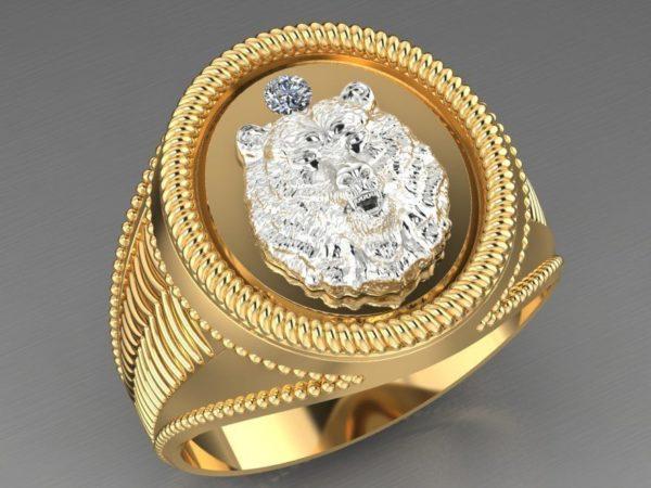 мужские кольца 1246