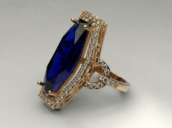 женские кольца  1282