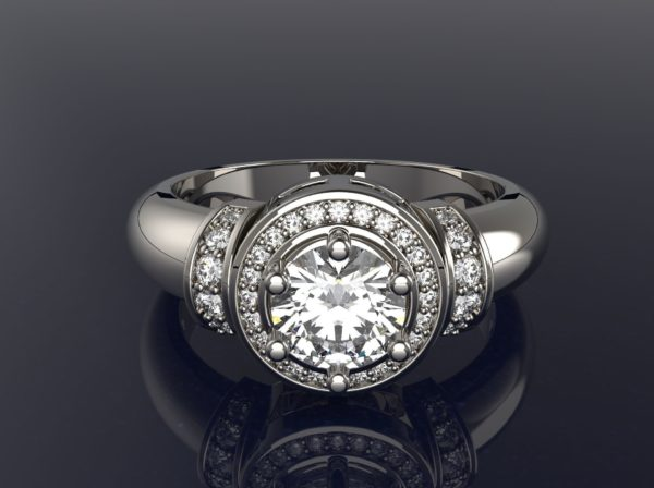 женские кольца 1310