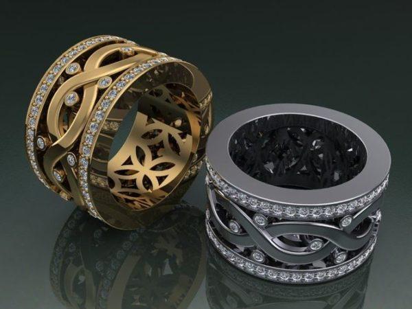 Обручальное кольцо 1309