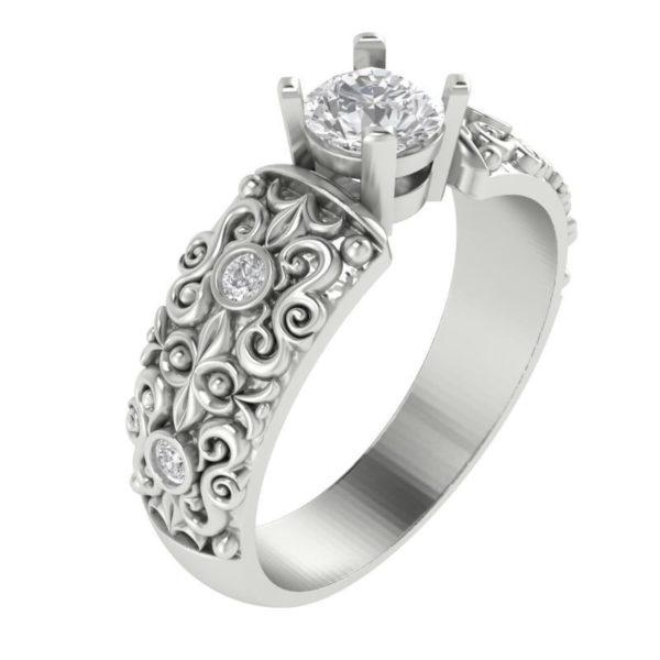 женские кольца 1287