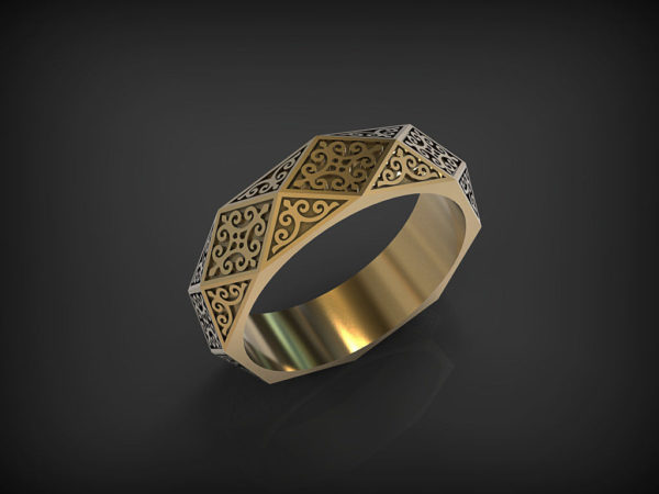 обручальные кольца 1375