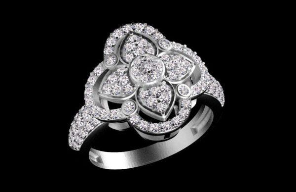 женские кольца  1257